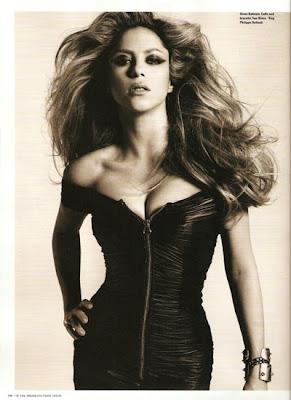 Shakira at the i-D Magazine Cover sexy photo