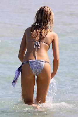 Katrina Bowden Bikini Photos on Miami Beach photos