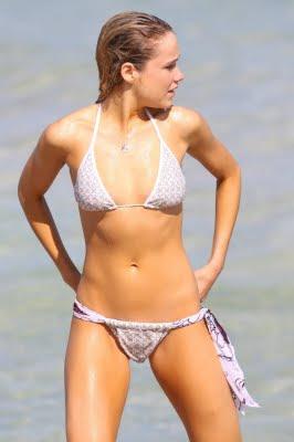 Katrina Bowden Bikini Photos on Miami Beach cute pics