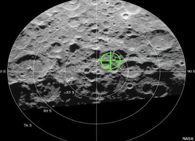 NASA Finds Water Found On Moon pics