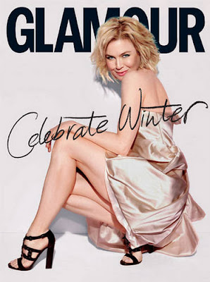 Renee Zellweger on Glamour Netherlands Magazine photo