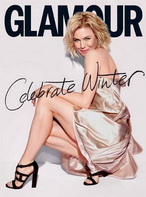 Renee Zellweger on Glamour Netherlands Magazine photo
