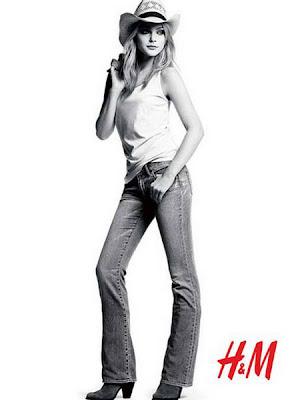 Jessica Stam on H&M Fall Winter pics