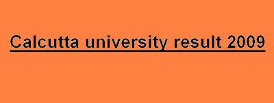 Calcutta University Result pics, Calcutta University Result information, Calcutta University Result date