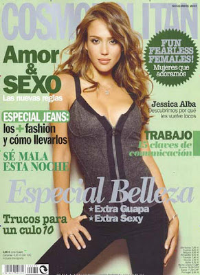 Jessica Alba Photo Shoot For Cosmopolitan Spain November 2009