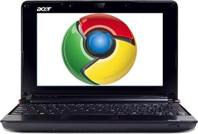 First Chrome OS Acer Notebook pics