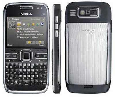 Nokia E72 Smartphone features
