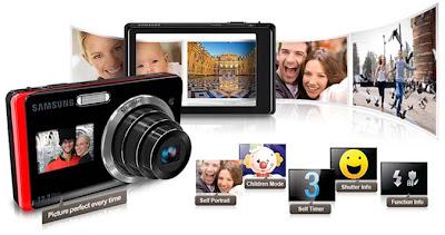 Samsung DualView TL220 Camera pics