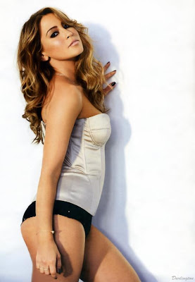Rachel Stevens in the January 2010 issue of FHM hot pics