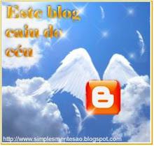Miminho Especial - Selo Este Blog Caiu do Céu