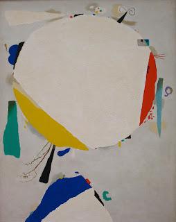 Willi Baumeister: Monturi, White Discus, 1954