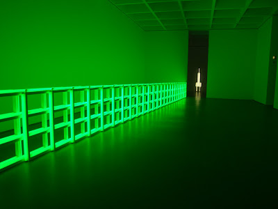 Dan Flavin: Untitled (To You, Heiner, with Admiration and Affection), 1973