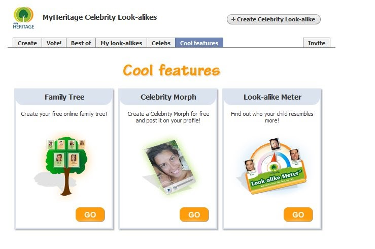 MyHeritage Celebrity Facial Matching - Moz