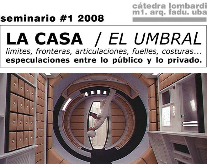 m1 seminario1 - La casa / El umbral