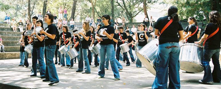 Per'Curtir | Escola e Grupo de Percussão