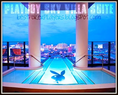 The Palms Hotel and Casino's Playboy Sky Villa Suite