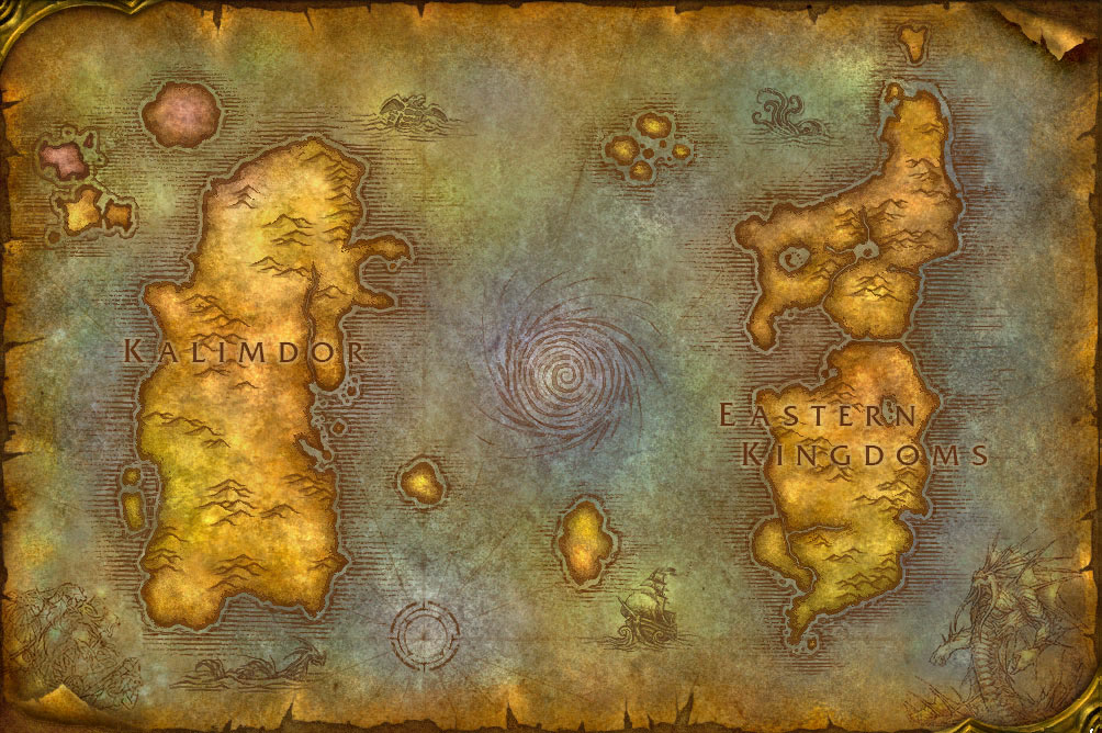 world of warcraft map kalimdor. Wow maps on level 3 This