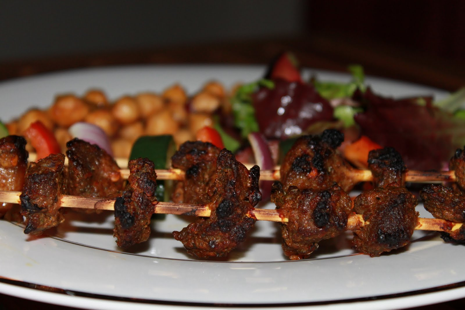 how to make lean beek kabab
