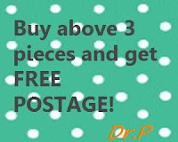 Postage is FREE when u get above 3 items!