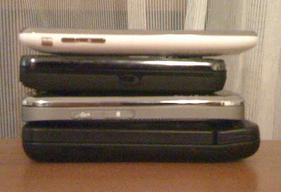 iPhone 3GS vs competitors
