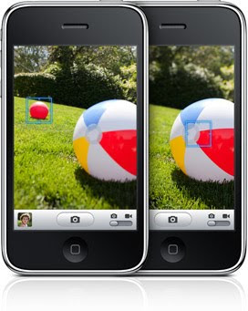 iPhone 3GS camera focus