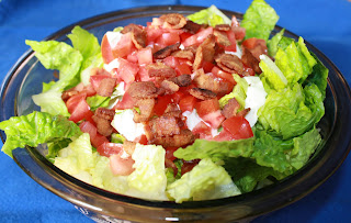 Once Upon a Family: Bacon lettuce and tomato salad
