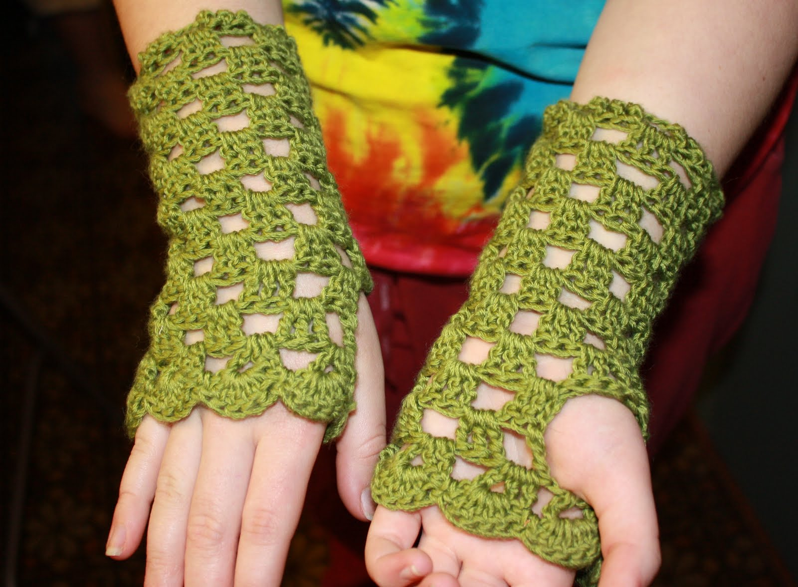 Fingerless Gloves and Wrist Warmers -- Free Crochet Patterns for