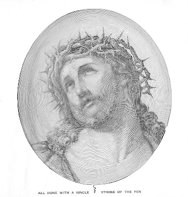 free church bulletin clip art Jesus