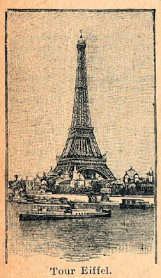 free clip art   vintage eiffel