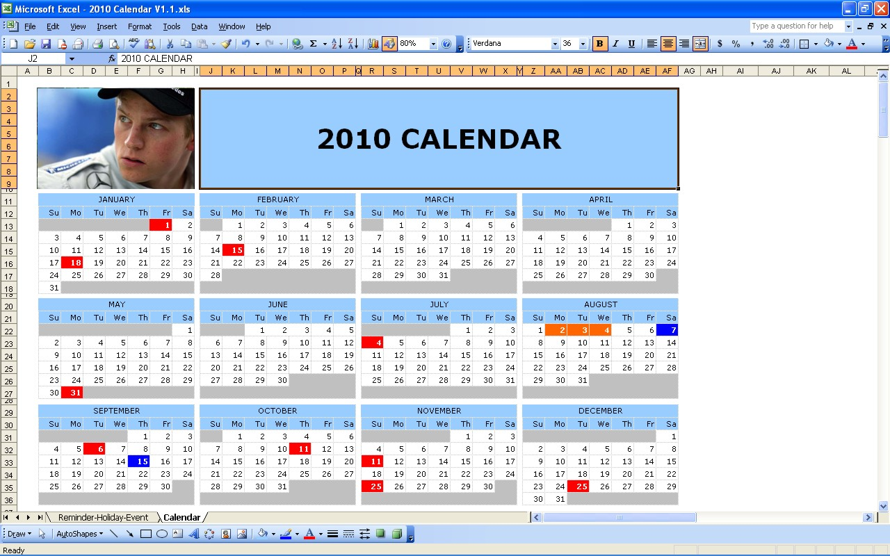 Free themes store 2010 calendar free openoffice calc for Open office calc templates