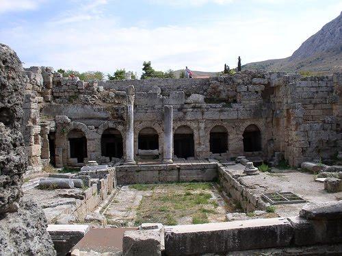 cidade antiga de Corinto