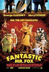 Cartel original de Fantástico Sr. Fox
