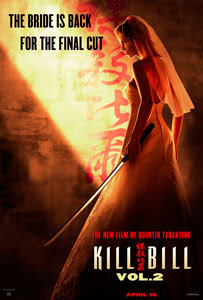 Cartel original de Kill Bill: Vol. 2