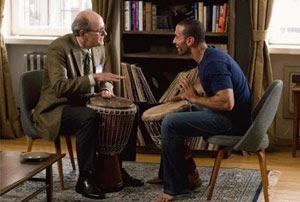 Richard Jenkins y Haaz Sleiman en The Visitor