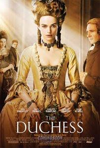 Cartel original de La duquesa