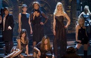 Judi Dench, Marion Cotillard, Sophia Loren, Nicole Kidman, Kate Hudson, Penélope Cruz y Fergie en Nine