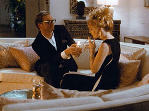 Colin Firth y Julianne Moore en Un hombre soltero