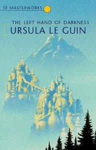 Portada británica de La mano izquierda de la oscuridad, de Ursula K. Le Guin