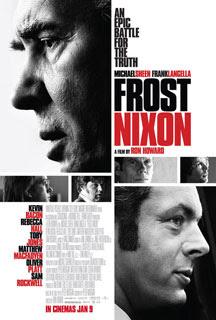 Cartel original de El desafío - Frost contra Nixon