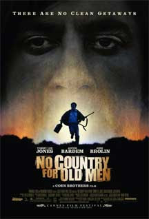 Cartel original de No es país para viejos