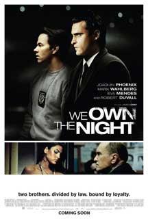 Cartel original de La noche es nuestra