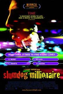 Cartel original de Slumdog Millionaire