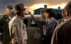 Harrison Ford y Cate Blanchett en Indiana Jones y el reino de la calavera de cristal