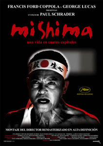 Cartel de Mishima: Una vida en cuatro captulos