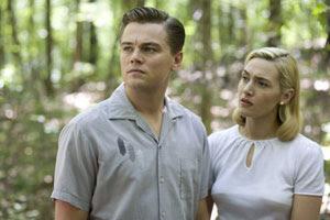 Leonardo DiCaprio y  Kate Winslet en Revolutionary Road