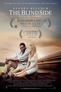 Cartel de The Blind Side. Un sueño posible