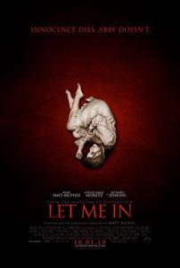 Cartel original de Déjame entrar (2010)