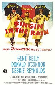 Cartel original de Cantando bajo la lluvia
