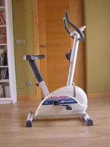 La bicicleta estática de Carlos del Río