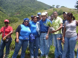 Reforestacion en Villa Altagracia, junio 2008